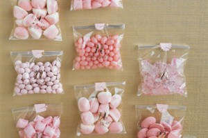 Favors sacchetti di caramelle