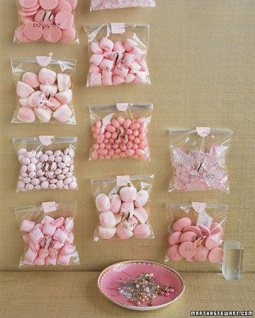 Sacchetti trasparenti per caramelle