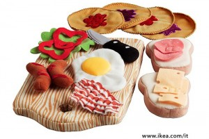 Idea regalo: felt food Ikea