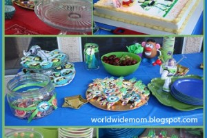 'Toy Story 3' birthday party