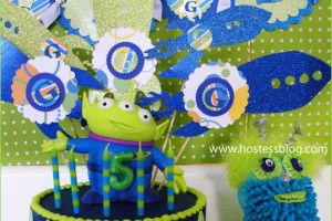 Festa di compleanno 'alieni'