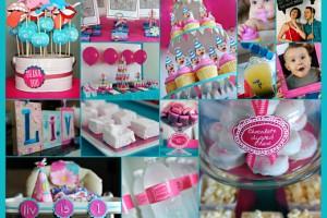 Ispirazioni di compleanno: turchese e fucsia