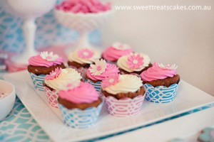 Cupcakes con margherite