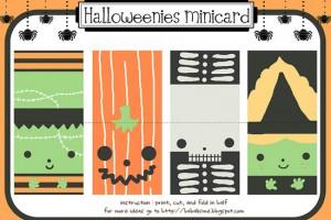 Biglietti di Halloween da stampare