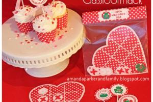 San Valentino: decorazioni da stampare