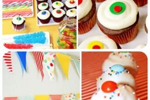 Compleanno colorato: strisce e pallini!