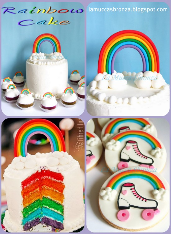 torta-compleanno-arcobaleno
