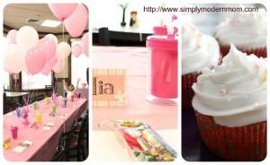 festa di compleanno rosa per bambina