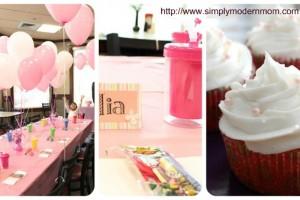Festa di compleanno 'in rosa'