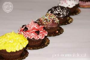 Cupcakes decorati con glassa reale