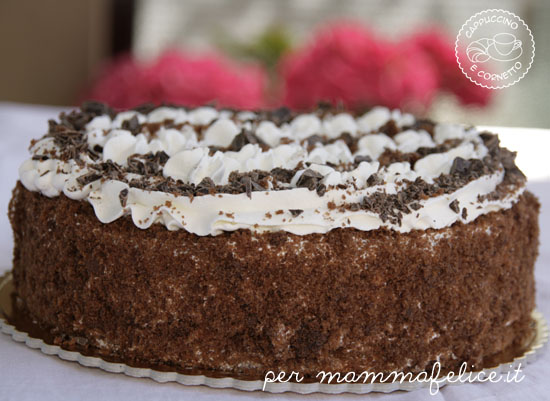 Torta Al Cioccolato E Panna Feste E Compleanni