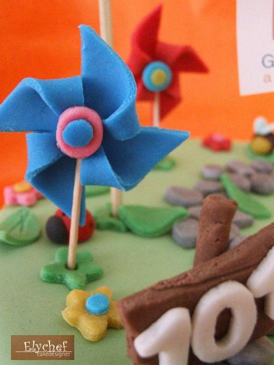 torta-compleanno-primavera-girandola