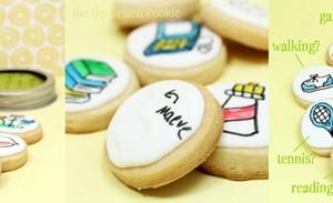 Decorare biscotti per la festa della mamma