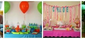 Organizzare il buffet di compleanno