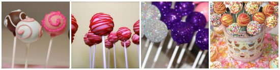 lollypop cakes