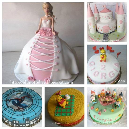 Idee per torte di copleanno per bambini da blunotte
