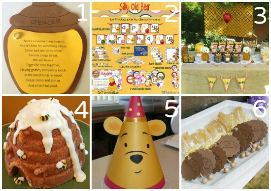 winnie the pooh party