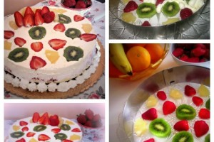 La pasticceria di Gloria: torta fredda alla frutta
