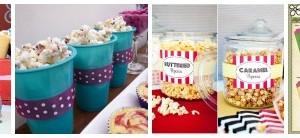 servire i popcorn