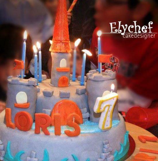 torta-decorata-castello-rapunzel