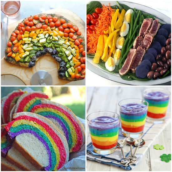 Ben noto Buffet festa arcobaleno | Feste e compleanni RL09