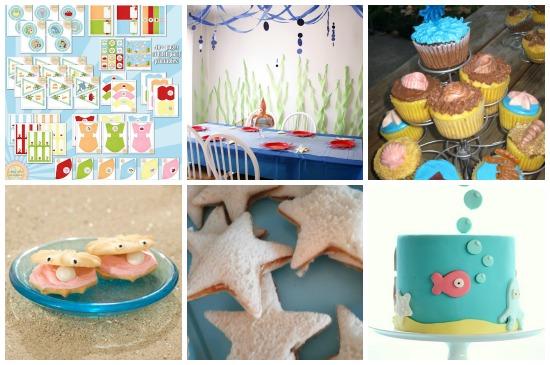 Compleanno negli abissi for Decorazioni torte tema mare