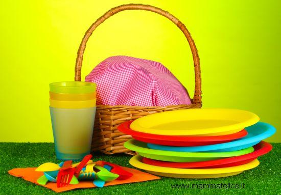 festa all'aperto con picnic