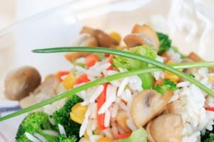 insalata di riso buffet compleanno