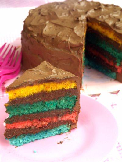 torta-arcobaleno-cioccolato