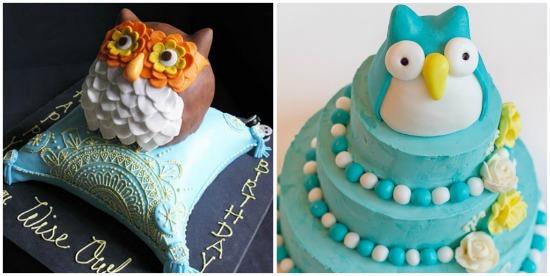 torta-compleanno-a-forma-di-gufo
