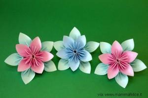 Decorazioni di compleanno con carta riciclata