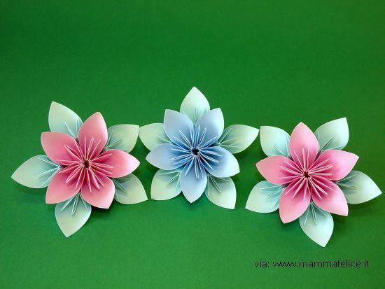 Decorazioni di compleanno con carta riciclata feste e - Decorazioni con fazzoletti di carta ...