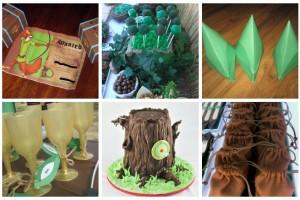 Compleanno a tema Robin Hood