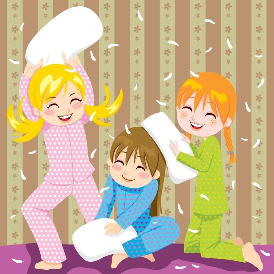 festa per bambini pigiama party