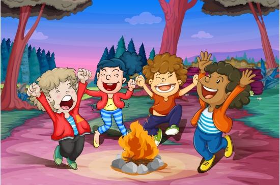festa-in-campeggio-bambini