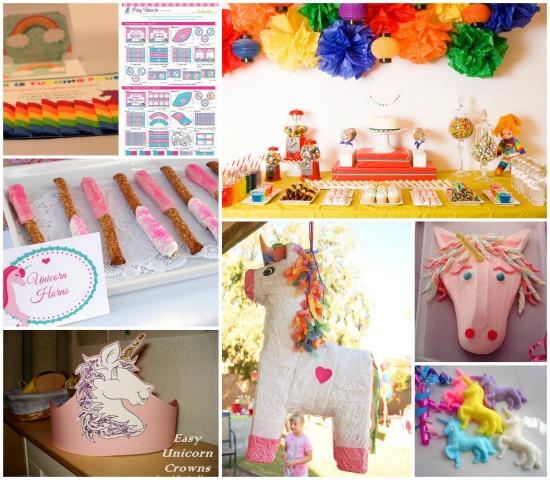 Compleanno unicorni feste e compleanni for Tavolo unicorno