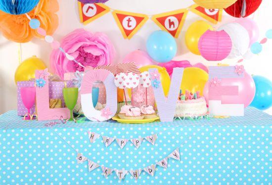 La lista per organizzare una festa di compleanno feste e - Decorazioni stanza bimba ...