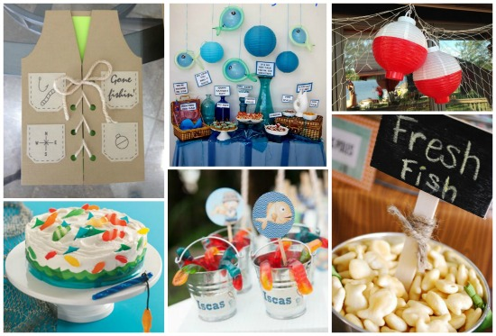 Festa compleanno tema mare feste e compleanni for Decorazioni torte tema mare