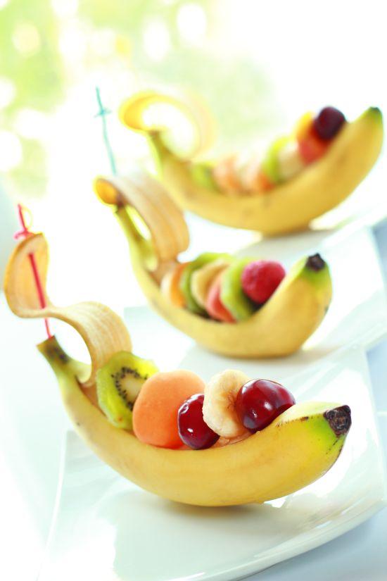 Buffet freschi di frutta e verdura feste e compleanni - Piatti di frutta decorati ...