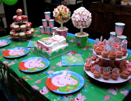 Tavolo Compleanno Bambina : Addobbo tavolo compleanno bambina: festa di compleanno in inverno