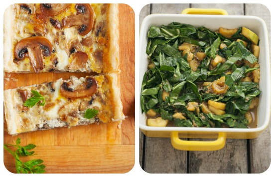 buffet-autunno-funghi-spinaci-torte-salate-forno