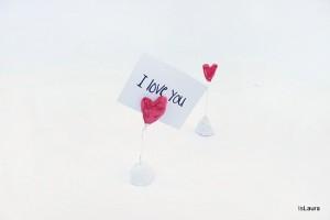 Segnaposto per la festa di San Valentino
