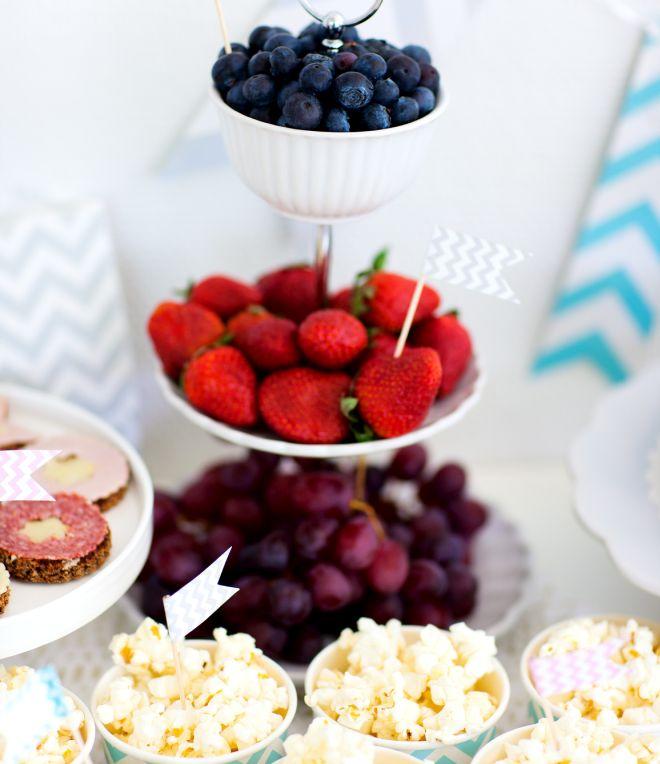 Famoso Buffet di compleanno sano e biologico per bambini | Feste e compleanni IP73