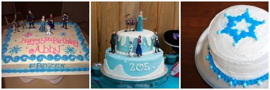 Torte festa Frozen