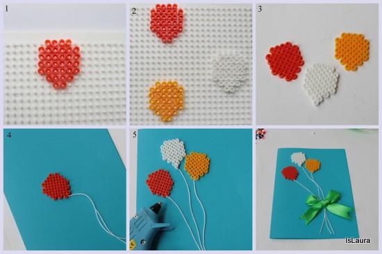 come-realizzare-un-biglietto-dauguri-con-palloncini-in-perline-termofusione