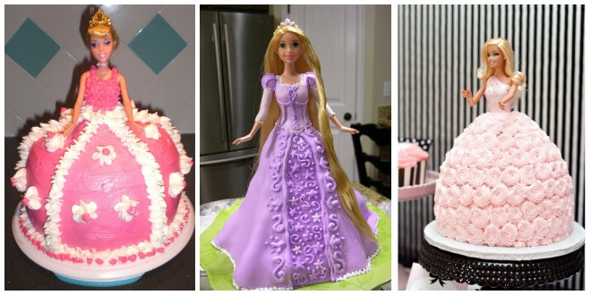torta compleanno Barbie