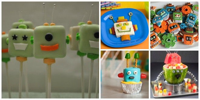 Buffet-compleanno-a-tema-robot