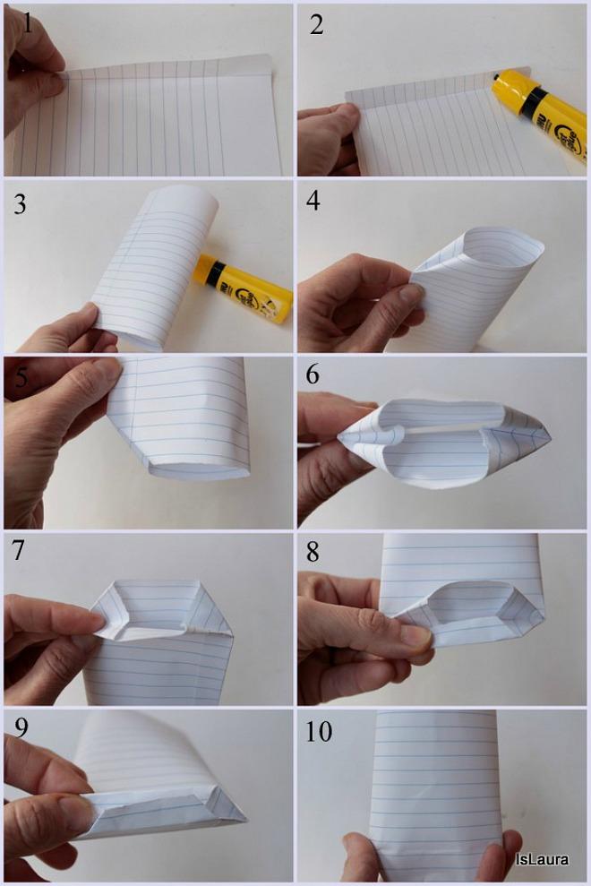 Molto Incartare i regali con un foglio di quaderno | Feste e compleanni LG63