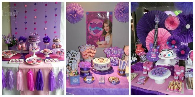Festa di Compleanno in tema Violetta | Feste e compleanni