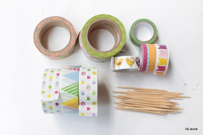 come-fare-bandierine-di-compleanno-con-washi-tape